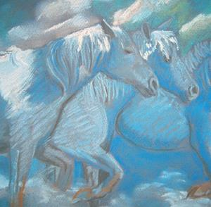 Detail Image for art Cloud Horses