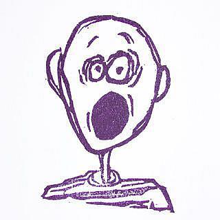 Art: Scary Boy by Artist Melissa Morton