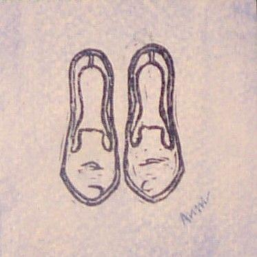 Art: Shoes by Artist Melissa Morton