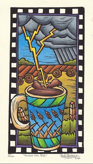 Art: Kansas Hot Shot (bp) by Artist Shelly Bedsaul