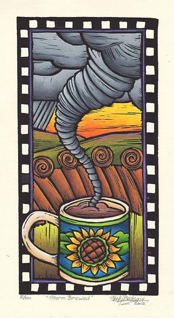 Art: Storm Brewed (bp) by Artist Shelly Bedsaul