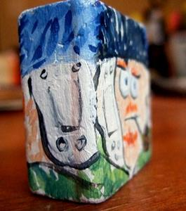 Detail Image for art lil' block heads Vincent Van Gogh (artist series)