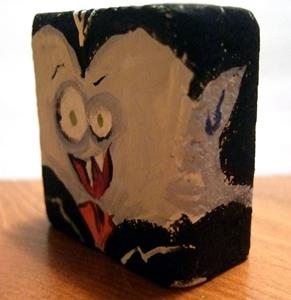 Detail Image for art lil' block heads Count Dracula (classic monster series)