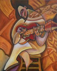 Art: Soul Acoustique by Artist Roy Guzman