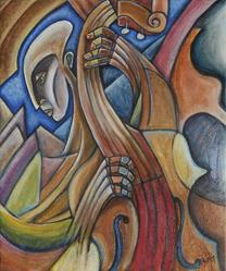Art: Jazz Resonance by Artist Roy Guzman