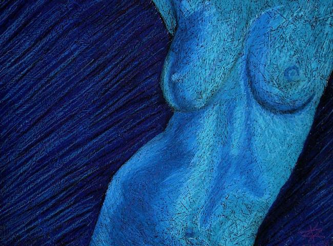 Art: Nude 4 by Artist Karla Kernz