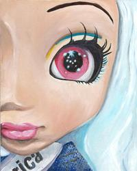 Art: A Pullip Venus by Artist Noelle Hunt