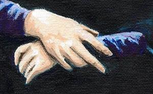 Detail Image for art Mona Lisa Smiled