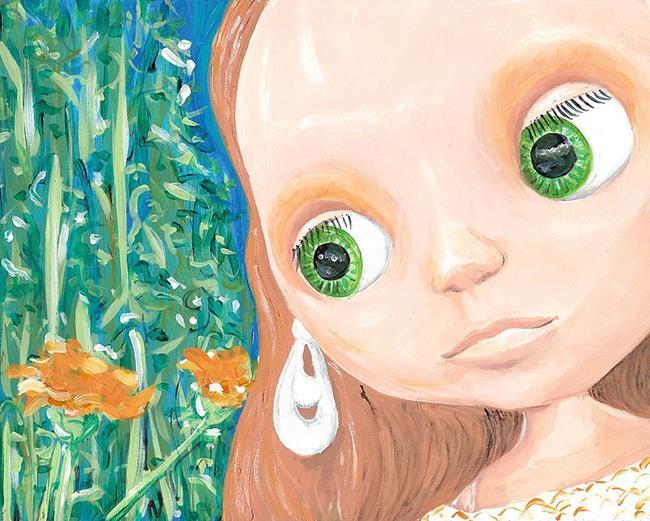 Art: Cinnamon Girl by Artist Noelle Hunt