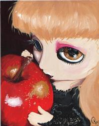 Art: A Poison Aplle by Artist Noelle Hunt