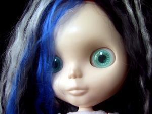 Detail Image for art Spooky Girl Custom Blythe Doll