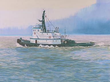 Art: North To Juneau by Artist Carol Thompson