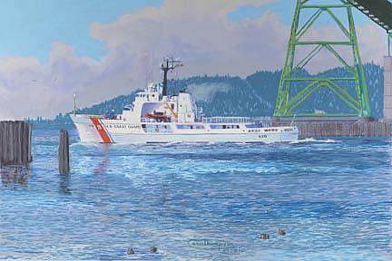 Art: Alert At The Bridge by Artist Carol Thompson