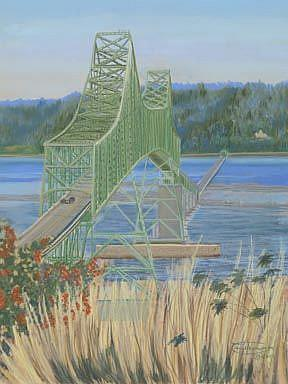 Art: The Bridge by Artist Carol Thompson