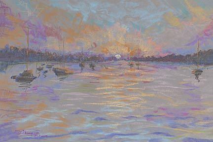 Art: Peaceful Harbor by Artist Carol Thompson