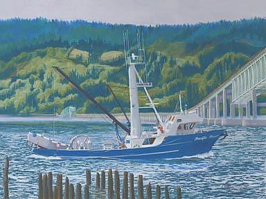 Art: Pacific Pursuit by Artist Carol Thompson