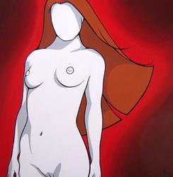 Art: Jennifer: Bold, Daring, and Intense by Artist Kris Jean