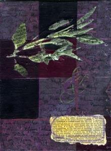 Detail Image for art Plum & Sage Journal - SOLD