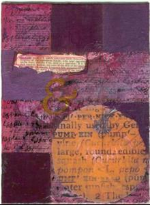 Detail Image for art Pumpkin & Eggplant Journal