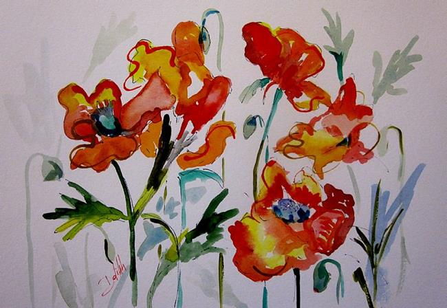 Art: Just Poppies by Artist Delilah Smith