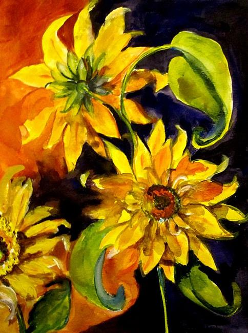 Art: VanGogh Sunflowers No 2 by Artist Delilah Smith