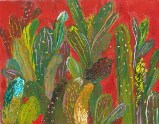 Art: Red Hot Desert, SOLD by Artist Delilah Smith