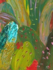 Detail Image for art Red Hot Desert, SOLD