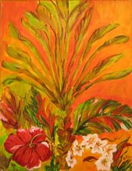 Art: Tropical Color, sold by Artist Delilah Smith