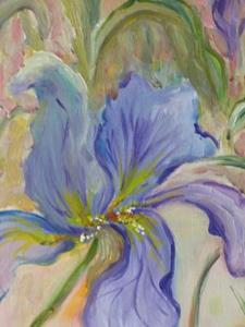 Detail Image for art Iris in Bloom