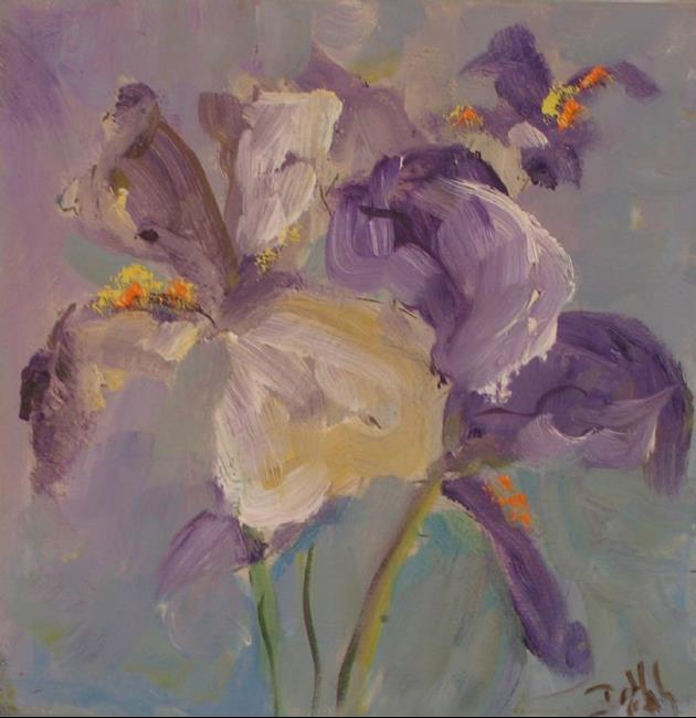 Art: Iris, sold by Artist Delilah Smith