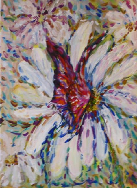 Art: Daisy and the Butterfly-sold by Artist Delilah Smith