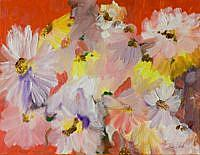 Art: Explosion of Daisies by Artist Delilah Smith