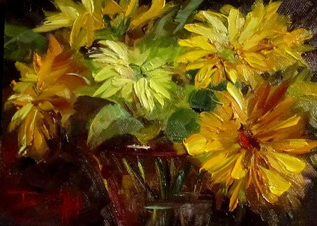 Art: Gerber Daisies by Artist Delilah Smith