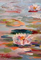 Art: Water Lilies by Artist Delilah Smith