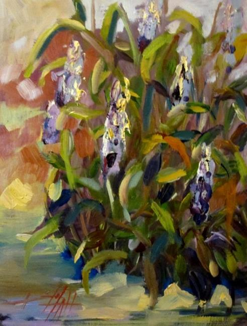 Art: Purple Loosestrife by Artist Delilah Smith