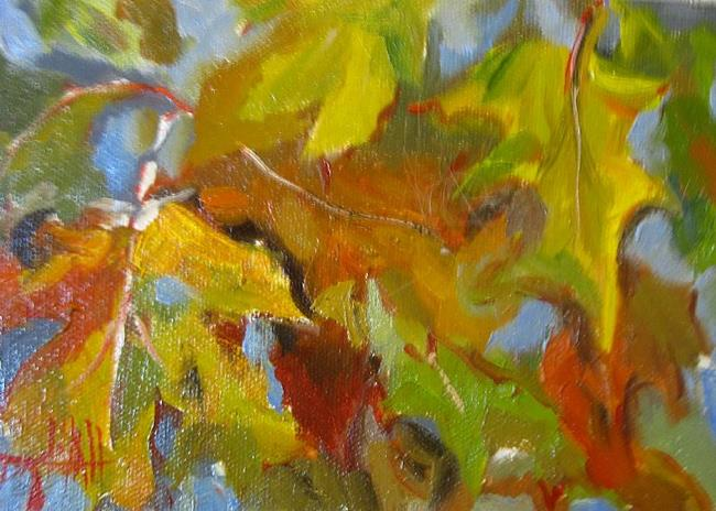 Art: A Fall Day by Artist Delilah Smith