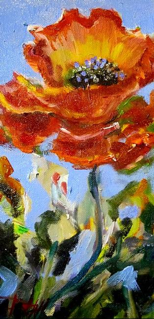 Art: California Poppies by Artist Delilah Smith