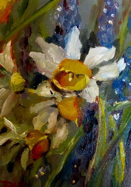 Art: Spring Narcissus by Artist Delilah Smith