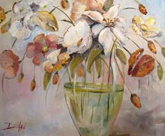 Art: Bayou Bouquet by Artist Delilah Smith