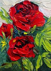Art: Roses are Red by Artist Delilah Smith