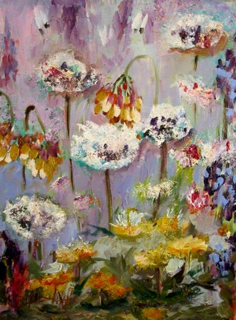 Art: Wild Flowers-sold by Artist Delilah Smith
