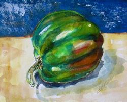 Art: Vegetable Art by Artist Delilah Smith