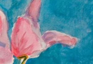 Detail Image for art Cyclamen No.2-sold