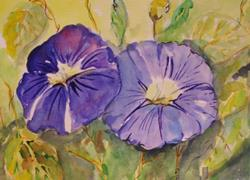 Art: Morning Glory-sold by Artist Delilah Smith