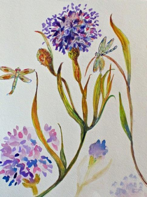 Art: Allium by Artist Delilah Smith