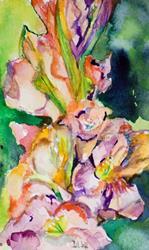 Art: Gladiolus by Artist Delilah Smith