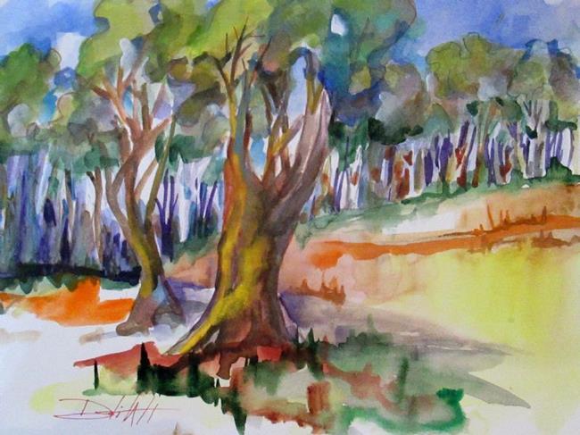 Art: Landscape No. 2-sold by Artist Delilah Smith