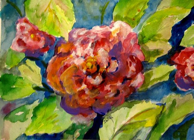 Art: Camellia by Artist Delilah Smith