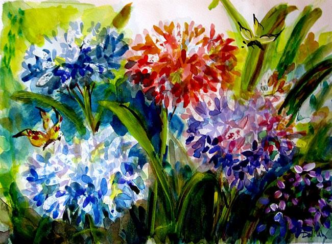 Art: Hydrangea No.2 by Artist Delilah Smith