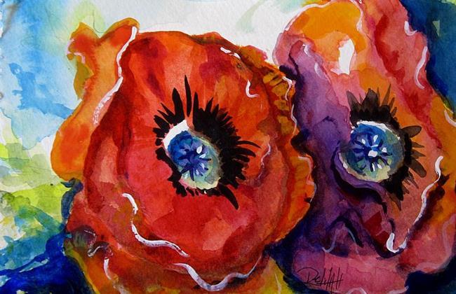 Art: Poppy Power by Artist Delilah Smith
